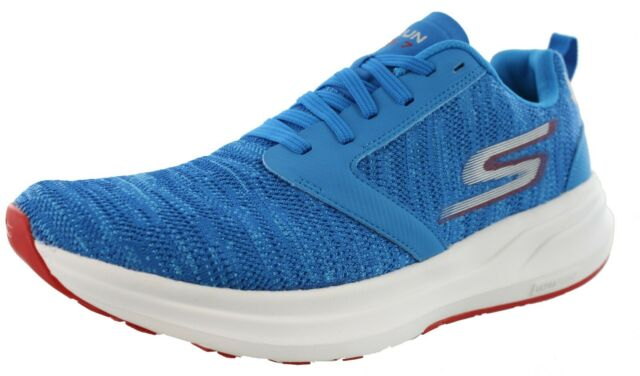 Details about NIB NEW Rare Skechers Go Run Ride 3 Mens Running Shoes Size 11.5 Blue Red E2