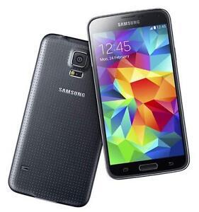 NUOVO-SAMSUNG-GALAXY-S5-Manichino-Display-Telefono-Nero-UK-Venditore