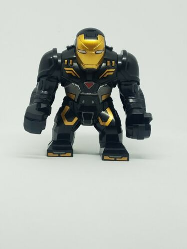 Iron Man Mark 44 Black Large Custom Minifigure Iron Man Marvel Avengers