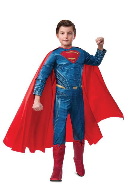 NEW DC Comics Superman Premium Costume  size 6-8