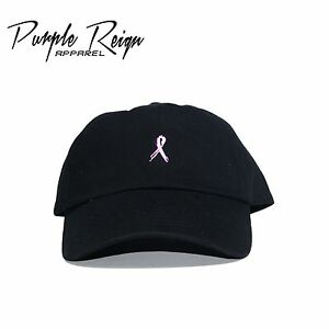 Image is loading BREAST-CANCER-AWARENESS-Embroidered-Dad-Hat-yeezus-supreme- c2addc68125a