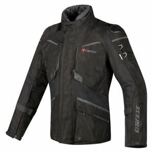 Dainese-Ridder-D1-Goretex-Black-Waterproof-Motorcycle-Jacket-New