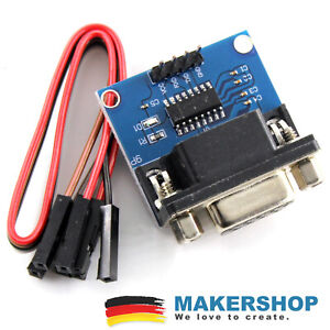 Rs232-adattatore-TTL-Cavi-max3232-3v-5v-Serial-Port-Converter-Modulo-Female-db9