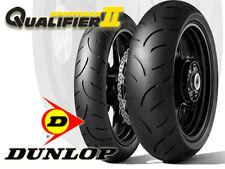 Pneumatici Moto Dunlop Sport Max Qualifier 2 Nuovi Coppia Gomme 120 + 180
