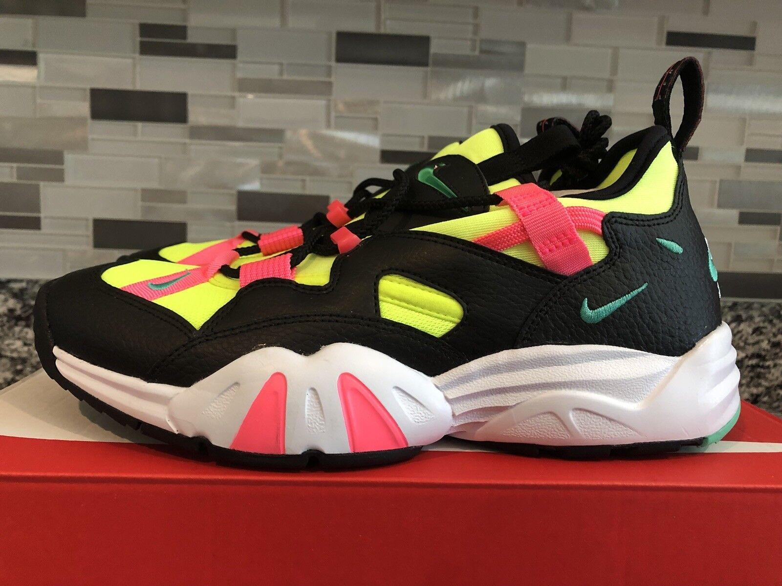 Men's Nike Air Scream LWP SZ 8.5 Training shoes Black Racer Pink Volt AH8517 001