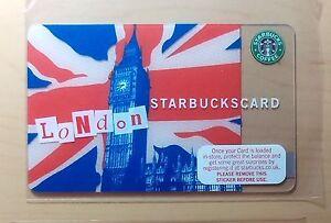 Rare-2007-034-BIG-BEN-034-Starbucks-UK-Payment-Card-ICM-271-6041