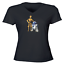 Juniors-Girl-Women-Vneck-Tee-T-Shirt-Gift-Star-Wars-R2D2-C-3PO-Robot-Droid-Rebel thumbnail 3