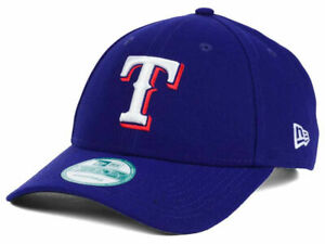 best sneakers 58ec9 e9136 Image is loading Texas-Rangers-New-Era-MLB-The-League-9FORTY-