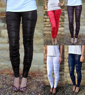 EXTRA LONG Leggings Mid Rise Waist COTTON SIZE 8 10 12 14 16 18 20 22 24 26 Tall