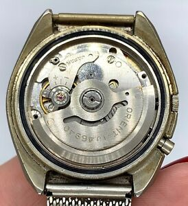 Orient-46940-Automatic-Vintage-37-2-mm-Day-Date-Doesn-039-T-Works-for-Parts