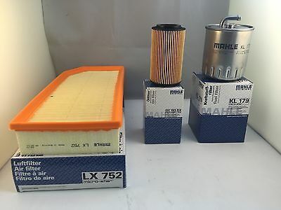 Mercedes M Class ML270 2.7 CDI Service Kit Oil Air Fuel Filter *OE MAHLE* OPT1