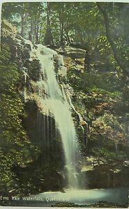 EMU-VALE-WATERFALLS-VIA-WARWICK-QUEENSLAND-EARLY-1900-S-COLOUR-POSTCARD