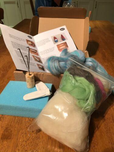 Schnauzer Dog Needle felting Kit *Everything you need to make your own dog* UK
