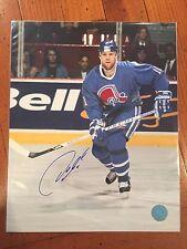 Owen Nolan Quebec Nordiques Autographed Rookie 8x10 Photo w/COA