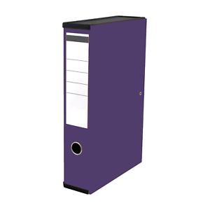 20 QUALITY PURPLE BOX FILE-OFFICE FOLDERS FOOLSCAP A4 /'NEW/'* 1 10 5 3