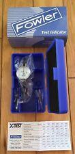 Fowler Xtest Double Range Dial Test Indicator Mini Face 006000005 52 562 002