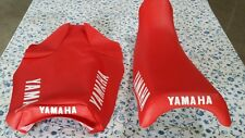 Yamaha yz125 1983 to 1985  SEAT COVER RED (Y49)