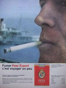 PUBLICITE-DE-PRESSE-1962-CIGARETTE-PEER-EXPORT-C-039-EST-VOYAGER-UN-PEU-TABAC