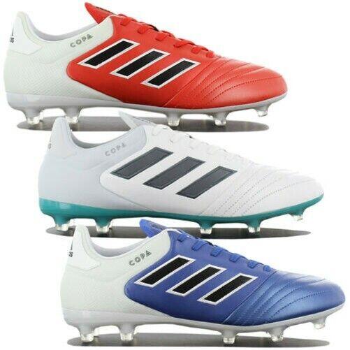 Adidas Copa 17.2 Fg Piel Hombre Botines de Fútbol con Tapones Zapatos Mundial