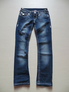 True Religion 1115 Slim Fit Jeans Hose, W 27 /L 30, Vintage Denim, Made in USA !