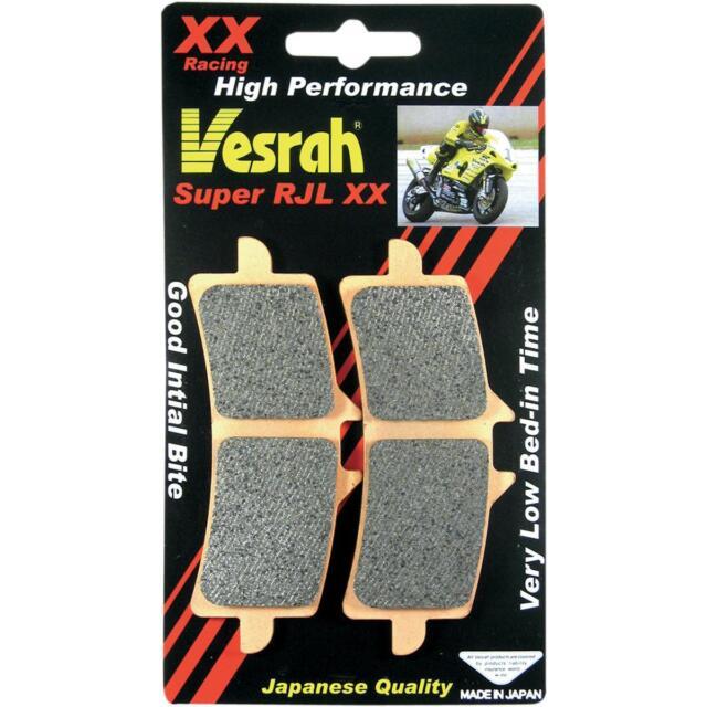 Vesrah RJL XX High-Performance Race Brake Pads VD-355RJL-XX Kawasaki 1721-1683