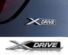 Auto Metall Schriftzug Aufkleber Emblem Plakette für BMW X xDRIVE X-DRIVE NEU