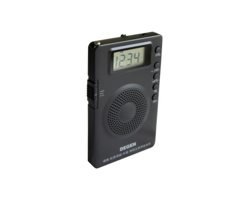 DEGEN DE215 DSP AM//FM//FML DSP Pocket size Radio /</< AM 9kHz tuning />/>