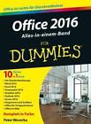 Office 2016 für Dummies Alles-in-einem-Band von Peter Weverka (2016, Taschenbuch)