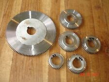 Lot Of Atlas Craftsman Logan Lathe Steel Quick Change Threading Gears Machinist