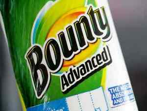 Bounty-Advance-Longer-Select-A-Size-White-110-Towels-Sheets-per-Roll-2Ply-Sealed