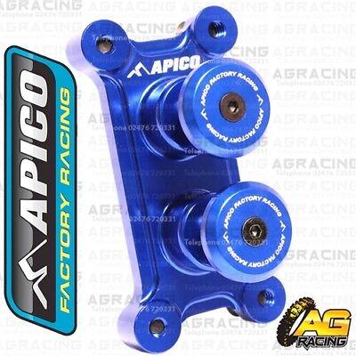 Apico Blue Alloy Fuel Cap Breather Pipe For Yamaha WR 450F 2006 Motocross Enduro