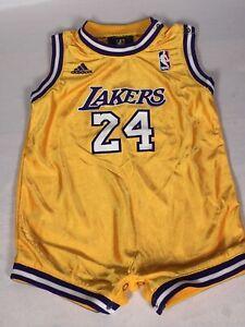 Rare VTG Kobe Bryant #24 Los Angeles Lakers Toddler Jersey ...