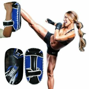 Training Boxing Punch Mitts Focus Pad Glove MMA Karate Thai Boxing Kick Strike