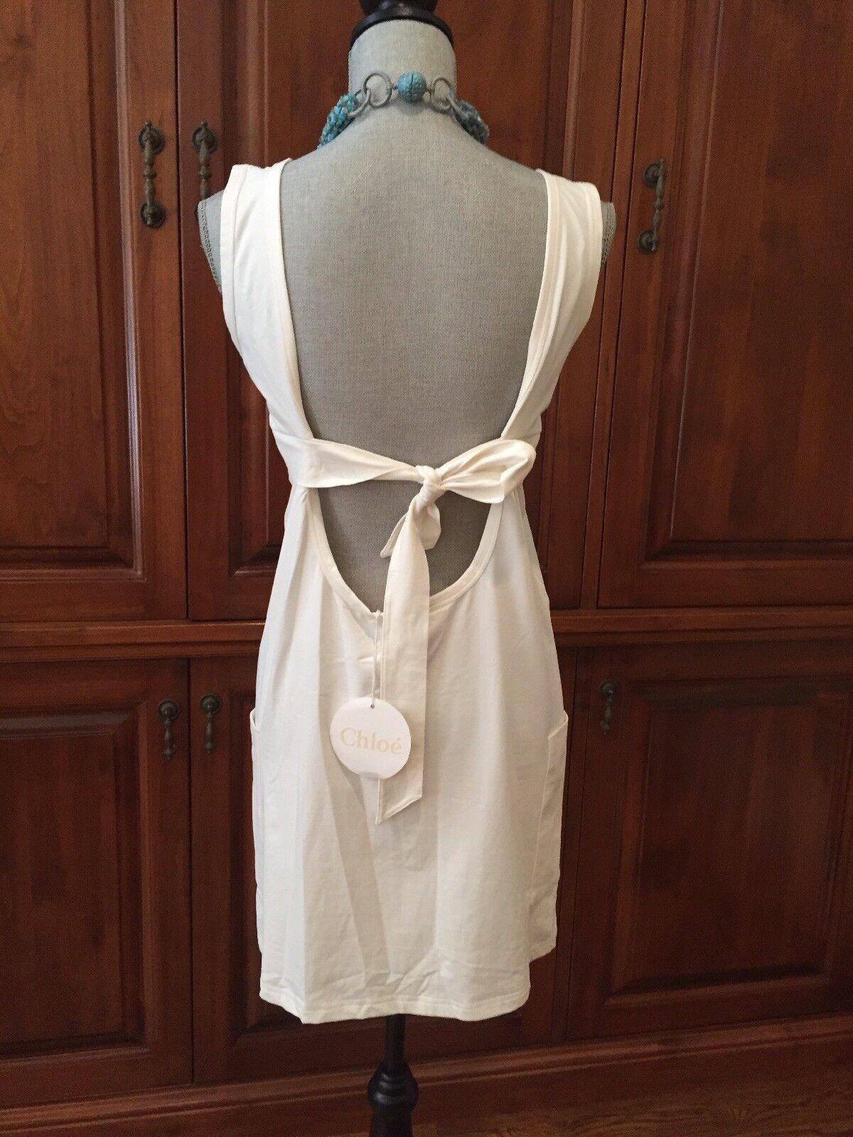 Brand New Chloe Dress Kaftan Bathing Suit Cover Size 44 Or 8