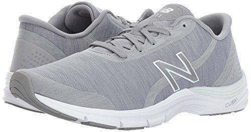 Wohombres New Balance 711V3 Heather Cross-Zapatos Entrenador-gris vapor de agua