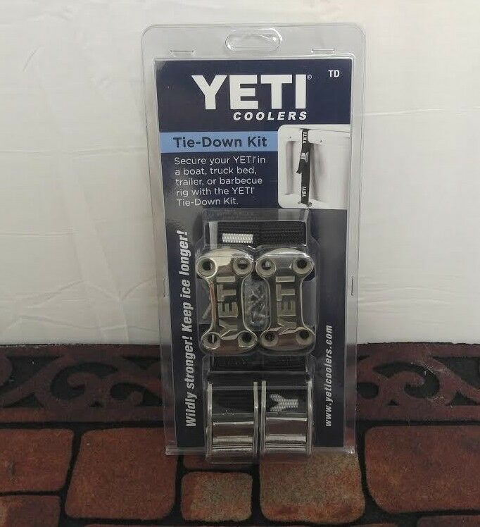AUTHENTIC YETI COOLERS Tie Down Strap Kit   --  FREE SHIPPING