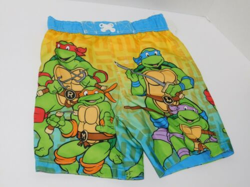 Boys Toddler Swim Trunks 2 3 4 2T 3T 4T Teenage Mutant Ninja Turtles