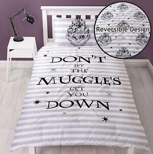 Harry-Potter-Sort-Housse-Couette-Simple-Set-Literie-Garcons-Filles-2-IN-1
