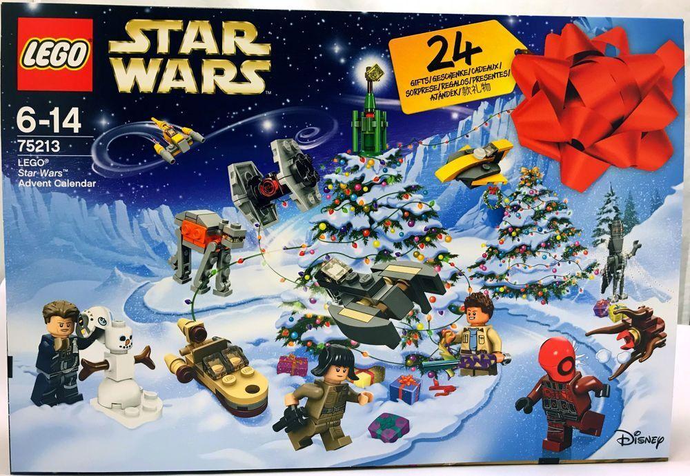 Lego 75213 Star Wars Calendrier D' Avent Construction et Jeu de Construction
