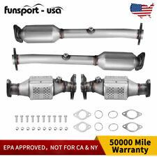 Epa Catalytic Converter Fits 05 18 Nissan Frontier 05 12 Pathfinder 40l Set Fits 2011 Nissan Frontier