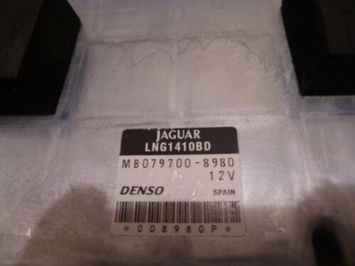 1998-2003 JAGUAR XJ8 VANDEN PLAS ENGINE COMPUTER MODULE LNG1410BD  MB079700-8980