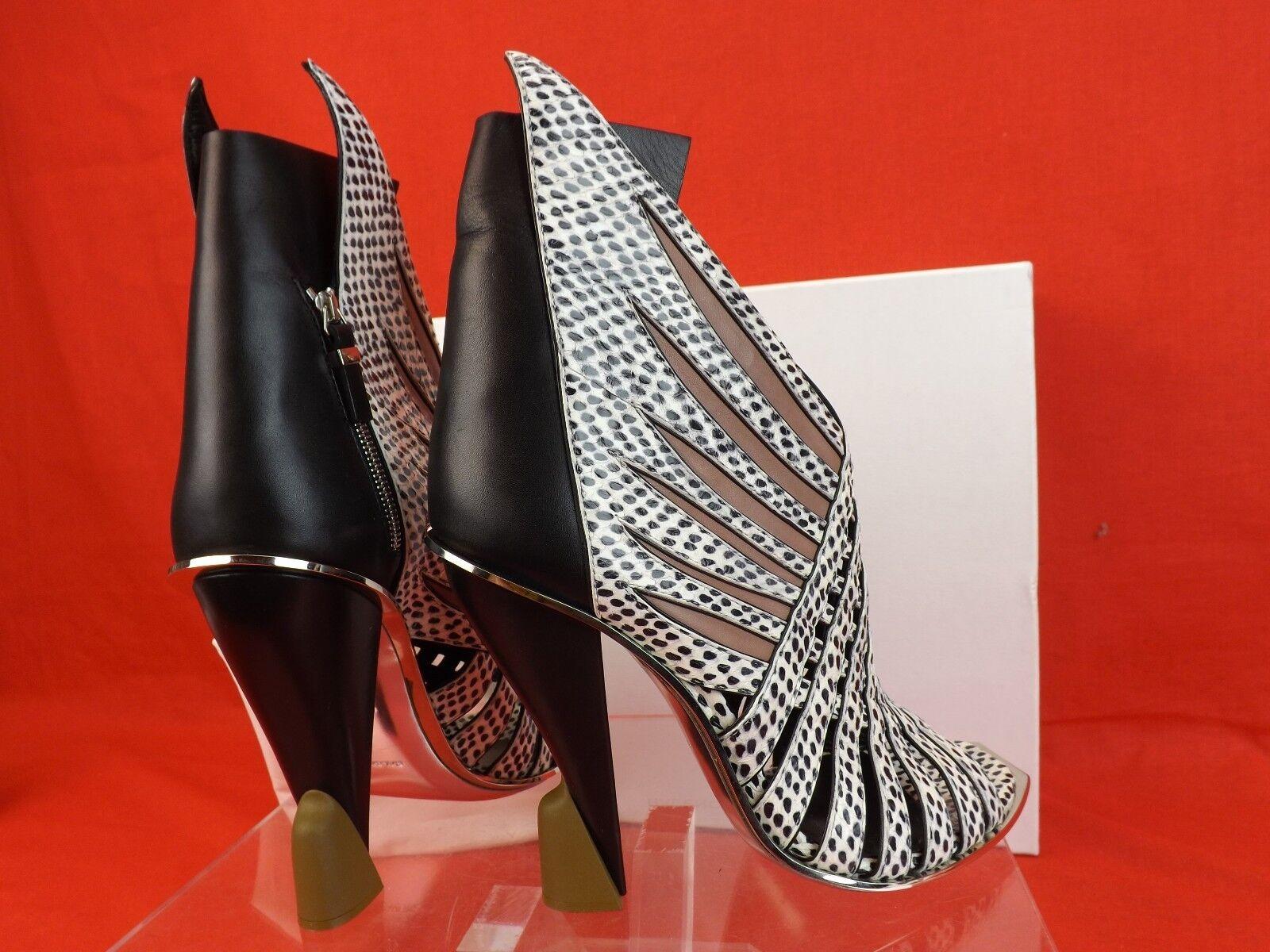 Nuevo En Caja Balenciaga Multi Color bombas Python Tejido alas escultura Tacones bombas Color 39.5  3K 469edf