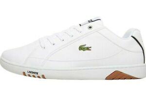 Lacoste Deviation 418 2 White Leather