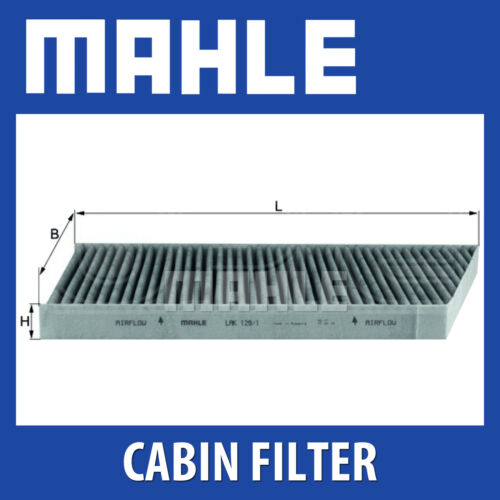 Mercedes Clase C Mahle Polen Filtro Cabina Filtro-Carbon Activado lak129//1