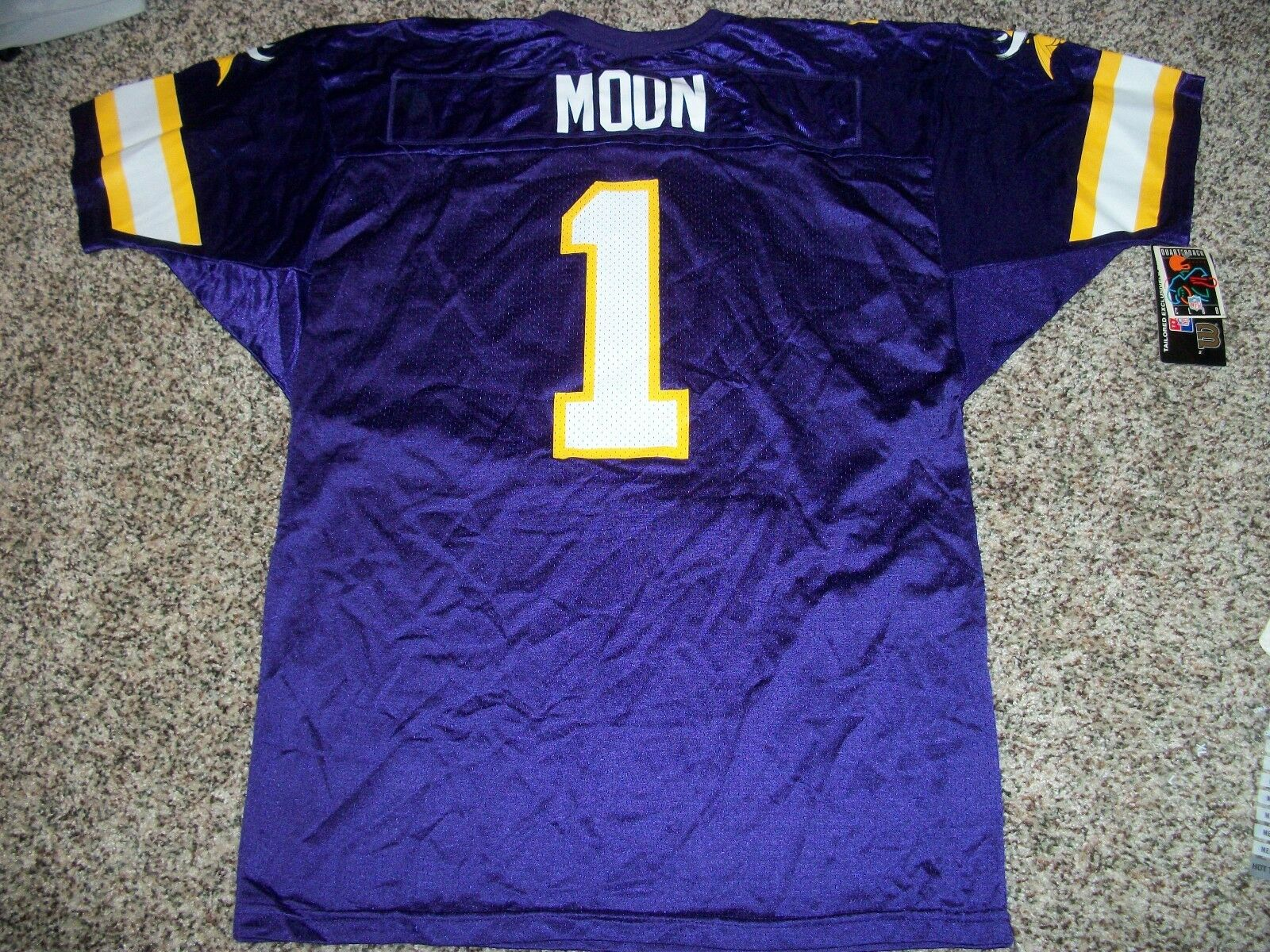 WARREN MOON New NWT Jersey Vintage Wilson Minnesota Vikings LARGE