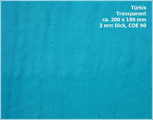 HotPot-Scheibenglas-AK90-18x20cm-TURKIS-Transparent