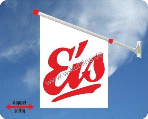 Eisdiele,Speiseeis,Eisbecher,Eiswaffel,Eisfahne,Werbefahne Eis Softeis Flagge