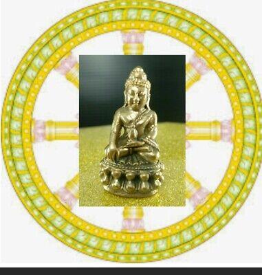 Thailand Amulet Buddha Phra Kring Stature Solid Talisman Magic Rich Success Holy