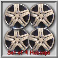 Set 4 16 Chrome Replica Chevy Chevrolet Impala Hubcaps 2006-2011 Wheel Covers