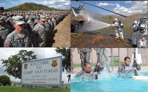 CAMP SANTIAGO Salinas PUERTO RICO NATIONAL GUARD Joint Center Challenge Coin PR
